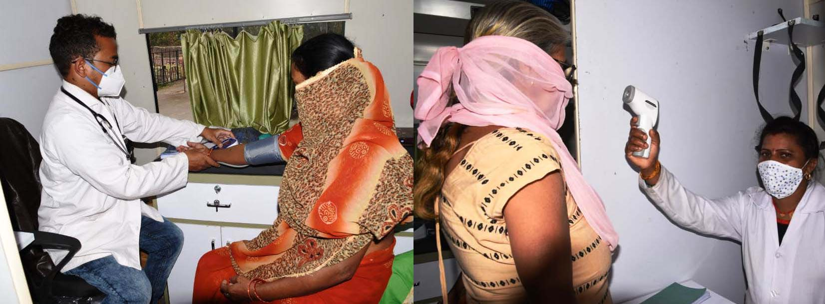 Photo of पेट दर्द और सांस लेने में थी तकलीफ,मोबाइल मेडिकल यूनिट से इलाज के बाद मिल गई रिलिफ
