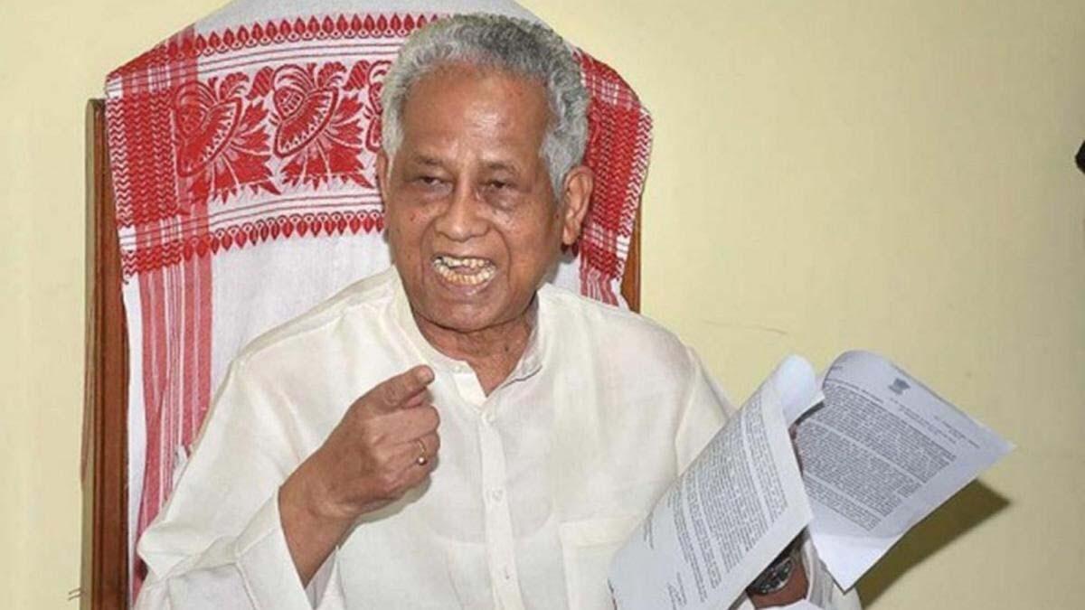 Photo of असम में उग्रवाद पर तरुण गोगोई ने लगाई लगाम1971 में पहली बार इंदिरा लहर में संसद पहुंचे थे तरुण गोगोई