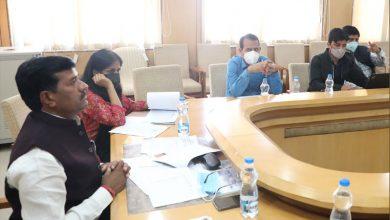 Photo of योजनाओं के लक्ष्यों की समय-सीमा में पूर्ति करें-राज्य मंत्री कुशवाह