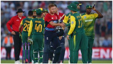 Photo of दक्षिण अफ्रीका और इंग्लैंड के बीच आज खेला जाने वाला दूसरा एकदिवसीय मैच स्थगित