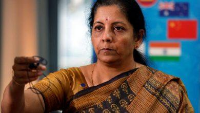 Photo of Forbes : दुनिया की ताकतवर 100 महिलाओं की सूची में सीतारमण  41वें स्थान पर