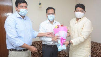 Photo of रायपुर नगर निगम कमिश्नर मलिक ने चार्ज लिया