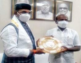 Photo of चेन्नई पहुँचे प्रदेश के चिकित्सा शिक्षा मंत्री सारंग
