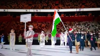 Photo of भारतीय दल ने किया मार्च-पास्ट,आतिशबाजी और रंगारंग कार्यक्रमों के साथ ओलंपिक की शुरुआत