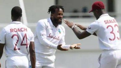 Photo of पाकिस्तान के खिलाफ टेस्ट सीरीज के लिए वेस्टइंडीज टीम की घोषणा