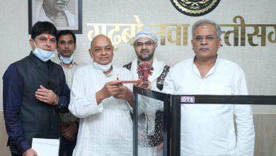 Photo of मुख्यमंत्री से बीज विकास निगम के अध्यक्ष ने की मुलाकात