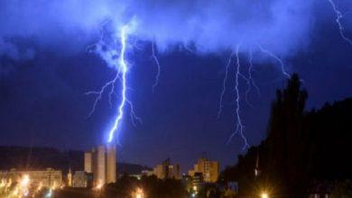 Photo of बिजली गिरने से एक ही परिवार के तीन लोगों की मौत, मृतकों में दो बच्चे भी शामिल
