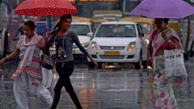 Photo of प्रदेश में राजधानी सहित 20 जिलों में बारिश के आसार