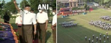 Photo of विजयदशमी के पावन मौके पर भागवत ने की 'शस्त्र पूजा', राष्ट्रपति-PM ने दी देशवासियों को बधाई
